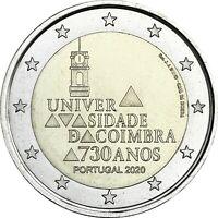 Portugal 2 Euro 2020 Universität Coimbra bankfrisch