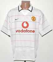 MANCHESTER UNITED 2003/2004 THIRD FOOTBALL SHIRT JERSEY NIKE SIZE L ADULT