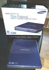 Samsung SE-S084 Slim external DVD Writer - Blue