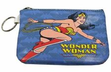 DC Comics - Wonder Woman - Schlüsseltasche Mini-Geldbörse - Ladies Blau