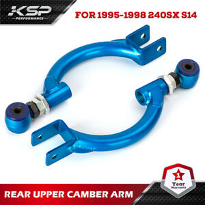 KSP REAR UPPER CONTROL ARMS FOR 95-02 NISSAN 240SX S14 S15 97-01 INFINITI Q45