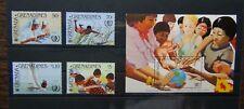 Grenada Grenadines 1985 Anniversary Girl Guide Movement set Miniature Sheet MNH