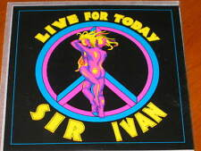 SIR IVAN - Live For Today - 11 Track DJ Radio Club Mix PROMO CD! FORD peaceman