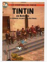 PASTICHE. Carte postale Tintin - TINTIN EN NORVÈGE  - Hors Commerce 2016