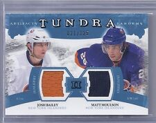 2011-12 UPPER DECK ARTIFACTS BAILEY MOULSON TUNDRA TANDEMS BLUE JERSEY /225 MB