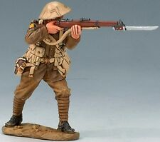 King & Country First War Fw042 Ww1 British Standing Firing Mib