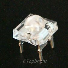 50 PCS5mm 8Kmcd Common Anode Super Flux RGB LED F/R