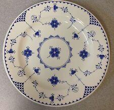"12"" Chop Plate/round Platter in  Denmark Blue pattern by Mason's"