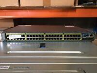 CISCO WS-C2960S-48TS-L V04 48-PORT SWITCH