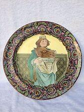 Large 19th C Rare Copeland Spode RN  180288 platter  Friar with hog's head