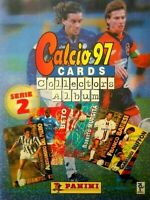 Album Panini CALCIO 1997 COMPLETE SERIE 2 calciatori adrenalyn cards football
