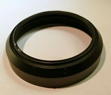 Lens Hood Shade threaded screw in type plastic forty three millimeter