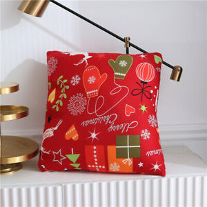 Modern Merry Christmas Art Elastic Couch Sofa Cover Spandex Slipcover Protector