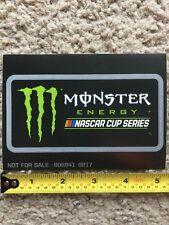 Monster Energy Drink NASCAR Cup Series Logo Sponsor Sticker Decal