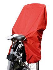 Trockolino - Regenschutz für Fahrrad-Kindersitz rot - das Original!