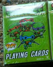 TAMN Turtles POP Playing Cards Ages 3+ 1 Of 2 Mystery Joker Cards In Deck   NEW