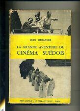 Jean Béranger # LA GRANDE AVENTURE DU CINÉMA SUÉDOIS # Éric Losfeld 1960