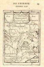 """1ST royaume de bourgogne. """"royaume de bourgogne"""". le lac léman. mallet 1683 carte"""