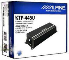 Alpine KTP-445U 4-Channel Universal Head Unit/ Car Power Pack Amplifier KTP445 U