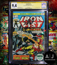 Iron Fist #1 CGC 9.4 STAN LEE + CHRIS CLAREMONT SIGNED! (Marvel) HIGH RES SCANS!