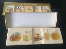 lot de miniatures parfums Estée Lauder Coffret TTBE