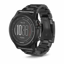 Garmin fenix 3 HR Titanium GPS Watch with DLC Titanium Band 010-01338-7B