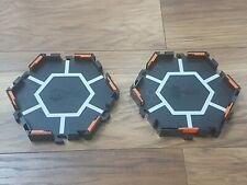 Hex Bug Spare/Replacement 2 X Hexagonal Black Bases
