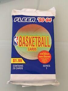 1993-94 Fleer 1 Jumbo Pack - Jordan - NBA - Rookie Sensations !