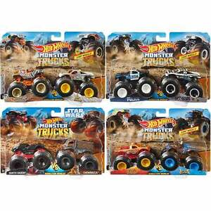Hot Wheels Monster Trucks Demolition Doubles - choose your pack