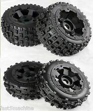 RC Baja Wheels & Tyres Bow Tie Style F/R set (4) Baja 5B Rovan King Motor PRC