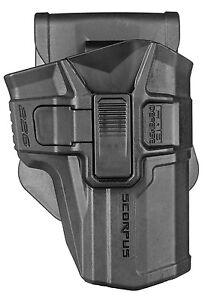 226SR SCORPUS® FAB Level 2 Swivel Retention Holster for SIG 226 (Paddle + Belt)