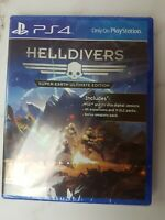 Helldivers: Super-Earth Ultimate Edition - PlayStation 4 PS4 - Brand New Sealed
