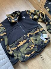 THE NORTH FACE Camouflage-print fleece jacket Size Medium BNWT Men's