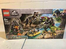 New Lego Jurassic World Legend of Isla Nublar 75938T. rex vs Dino-Mech Battle