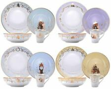 Disney Princess 16 Piece Ceramic Dinnerware Set Plates,Bowls,Mug New in Box.