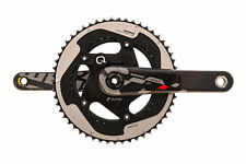 SRAM Red 22 Quarq Powermeter Crank Set 11s 175mm 53/39T 130mm BCD BB30 - Good