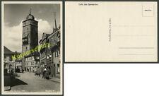 Foto Lohr Main Bayersturm Straßenszene Auto Läden Tankstelle SHELL Dapolin 1930