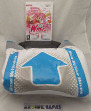LOT DANCE DANCE REVOLUTION WINX CLUB + TAPIS Wii (vendeur pro)