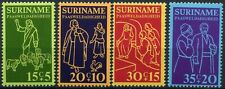Surinam 1975 SG#789-792 Easter Charity MNH Set #D86542