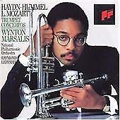WYNTON MARSALIS. Haydn, Hummel, L. Mozart: Trumpet Concertos (1983) CD ALBUM