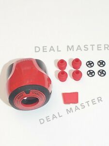 Parrot Bebop 2 White to Red Conversion kit White Nose Button Cap and Rubbers 😊