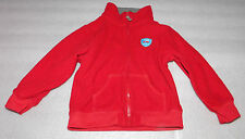 Carters Toddler Boys Hero Fire Engine Co. Red Fleece Jacket 18 Months