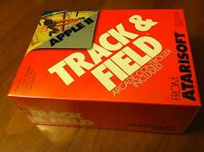 Track & Field with controller Atarisoft 1984 arcade game Apple II+,IIe,IIgs
