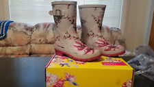 Womens Size 7 Joules Z_MOLLYWELY Rain & Snow Boots