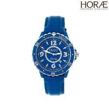 Orologio donna Liu Jo Luxury Sportlight TLJ040 swarowski blu pelle quarzo 37mm