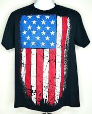AMERICAN FLAG Shirt Mens Large