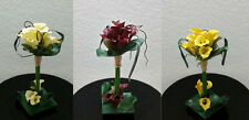 "13"" Calla Lily Silk Flower Arrangement Centerpiece Home Floral Decor"