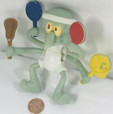 McDonald's Nickelodeon Spongebob Squarepants Squidward Tennis Action Figure