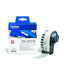 Brother Black on White Continuous Length Paper Tape 29mm DK22210 [BA62996]