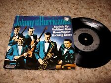JOHNNY & THE HURRICANES U.K 45 EP W/ PS ~ HL 10578 (RED RIVER ROCK + 3 MORE)